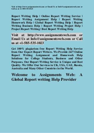 Report writers
