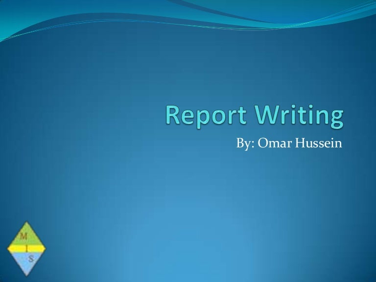 How to write a formal Report – How to Write an Official Report Format