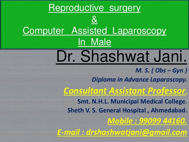Male Reproductive Surgery By Dr Shashwat Jani-2086