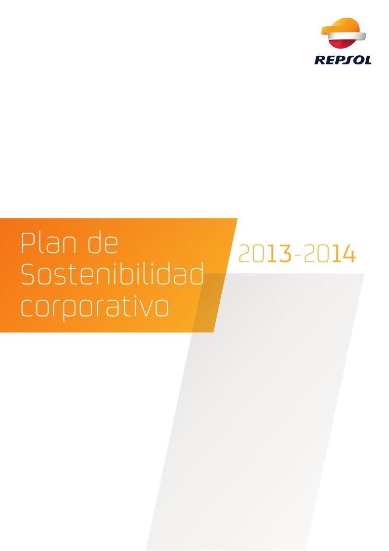 Repsol: Planes de Sostenibilidad 2013-2014
