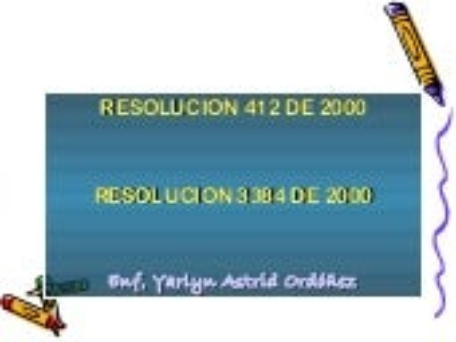 Res 412 de_2000 colombia