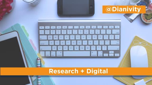Digital Research & Analysis