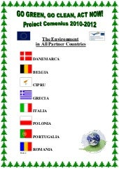 Research about the Environment in Partner Countries