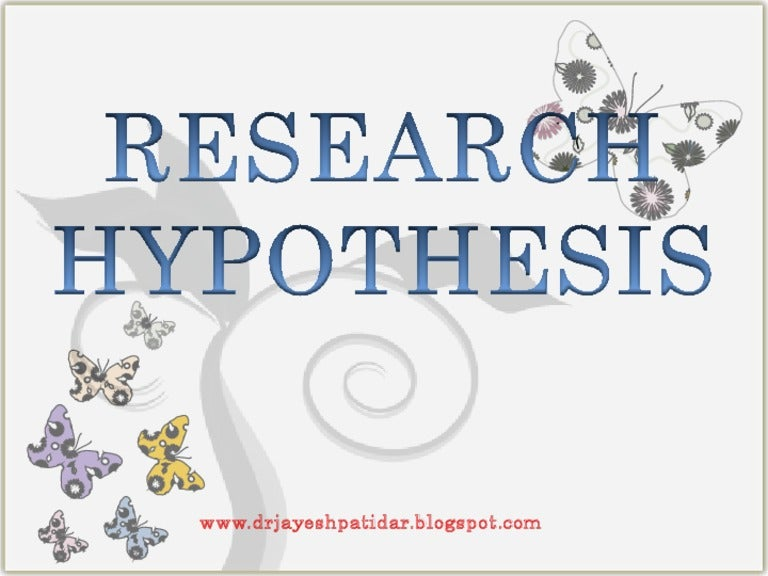 Elements of a Good Hypothesis