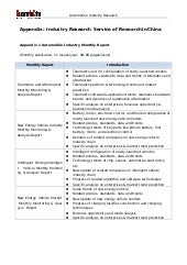 Research inchina automotive industry research