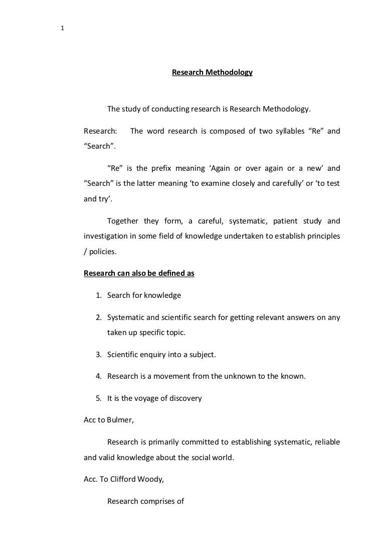 Research Methodology Notes Researchmethodologynotes  Phpapp Thumbnail  Research Methodology Notes