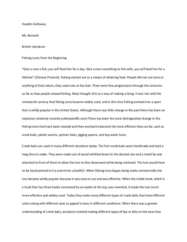 Request for thesis
