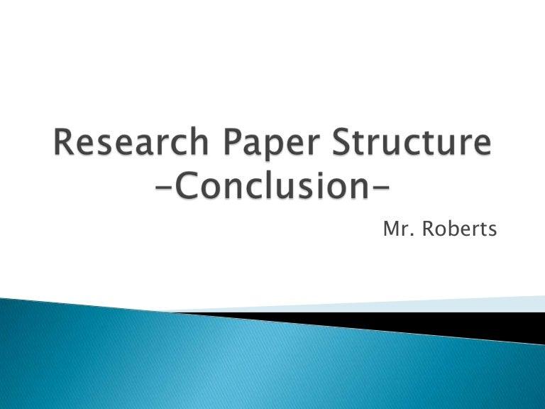 Do conclusion term paper