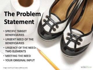 Dissertation proposal statement of the problem
