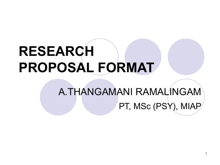 anthropology research proposal example