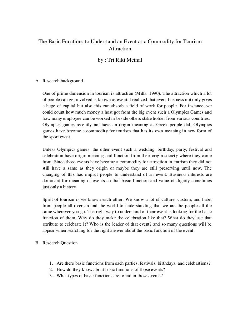 Medical tourism master thesis