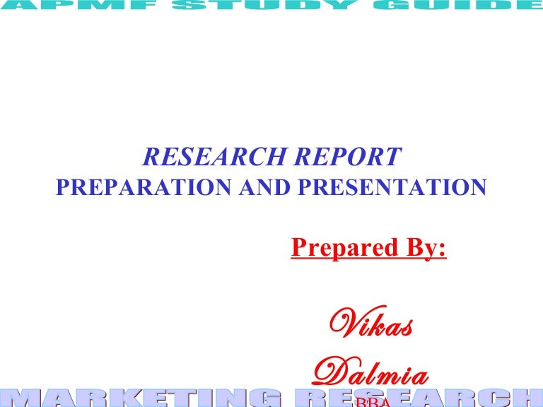 research methodology report writing ppt