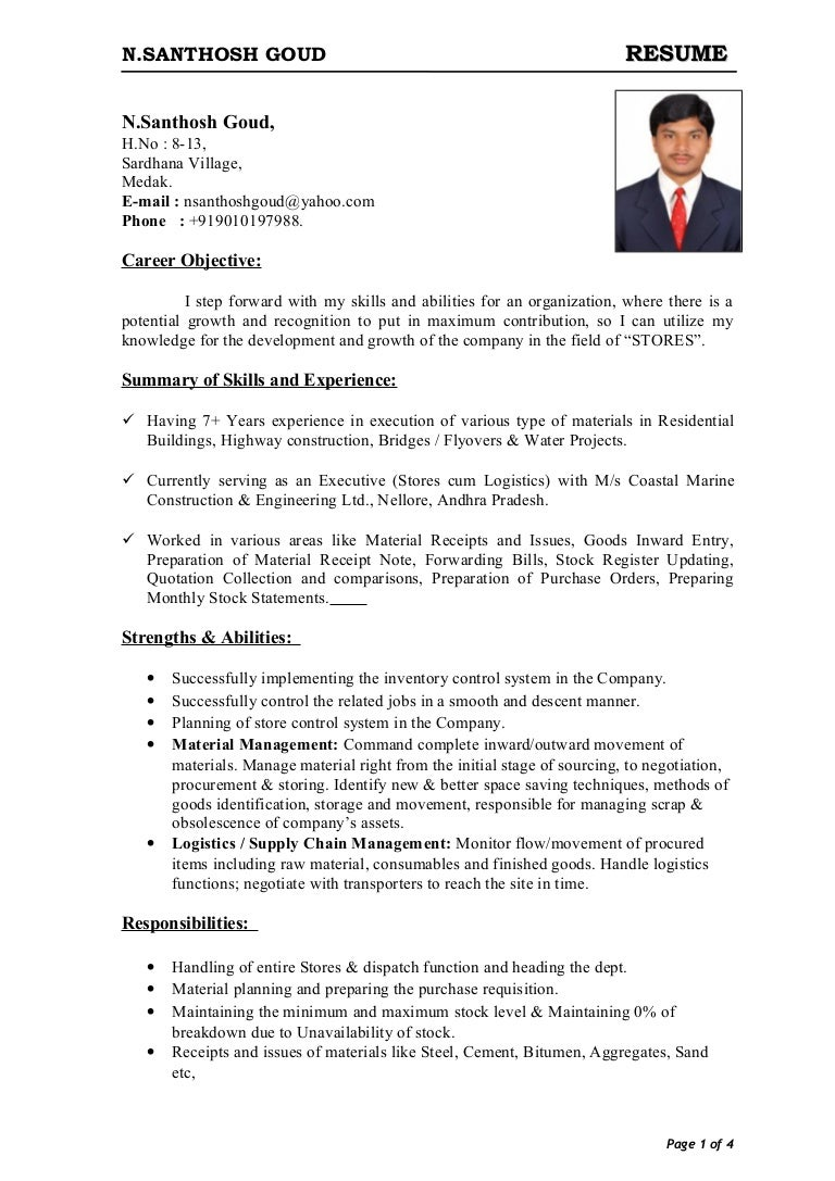 store officer sample resume paralegal resume objective examples resume sman shop resemenew 130413011054 phpapp02 thumbnail 4 16066