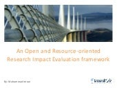 ResEval: Resource-oriented Research Impact Evaluation platform