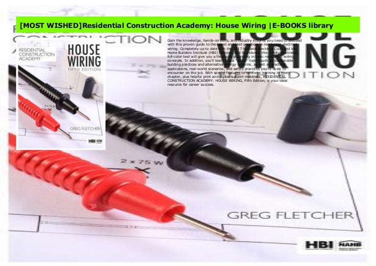 [QNCB_7524]  MOST WISHED]Residential Construction Academy: House Wiring |E-BOOKS … | Residential Construction Academy House Wiring |  | Slideshare