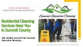 Residential Cleaning Services Near You in Summit County