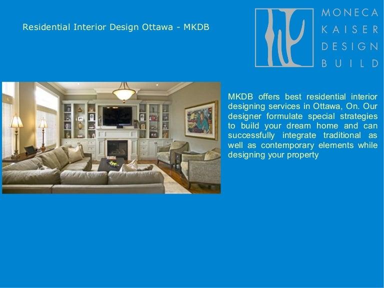 Residential Interior Design Services Ottawa