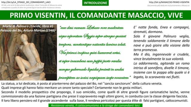 Resistenza veneta, la strage dei comandanti laici   Introduzione rev. 03