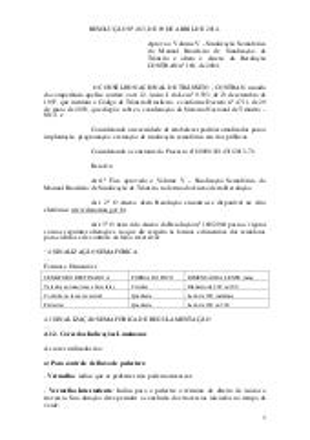 Resolução nº 483 ,de 09 de abril de 2014.