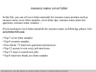 example of job cover letter