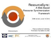 ResourceSync tutorial OAI8