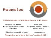 ResourceSync Overview