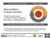 ResourceSync Quick Overview