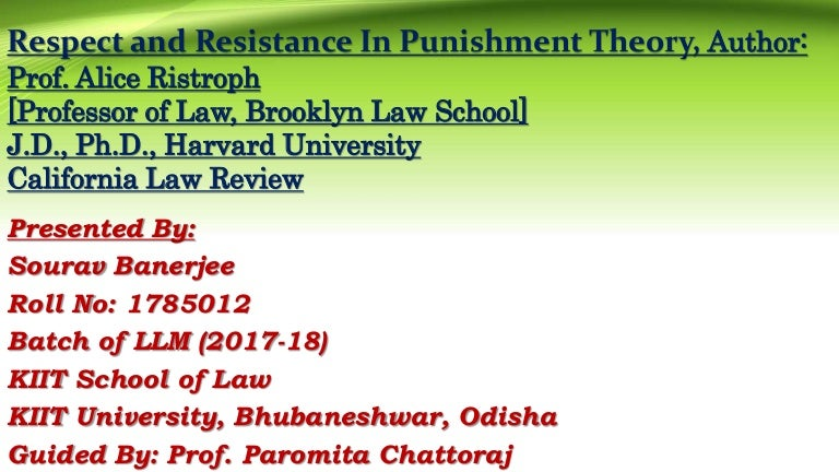 lombroso and gorings theory of punishment essay All theories of punishment will continue to be argued and unsupported by other theorists and whilst both theories have some workable ideas, the flaws have to be considered in more detail for either in punishment and responsibility: essays in the philosophy of law new york: oxford university press.