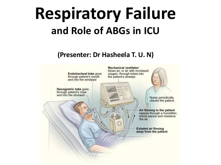 respiratory failure role of abg's in icu, Skeleton