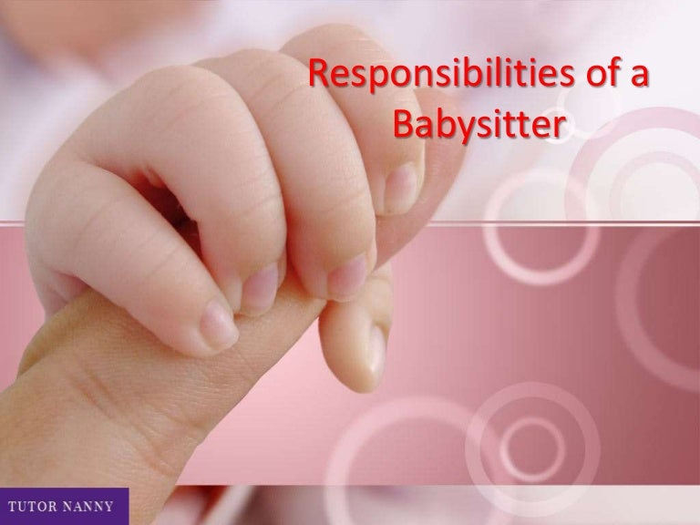 responsibilities of a babysitter