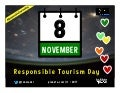November 8 is Responsible Tourism Day @WTM_WRTD @unwto