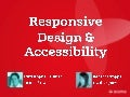 Responsive & Mobile accessibility