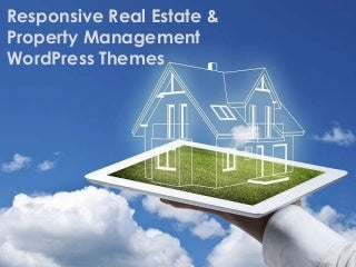 Responsive Real Estate & Property Management WordPress Themes