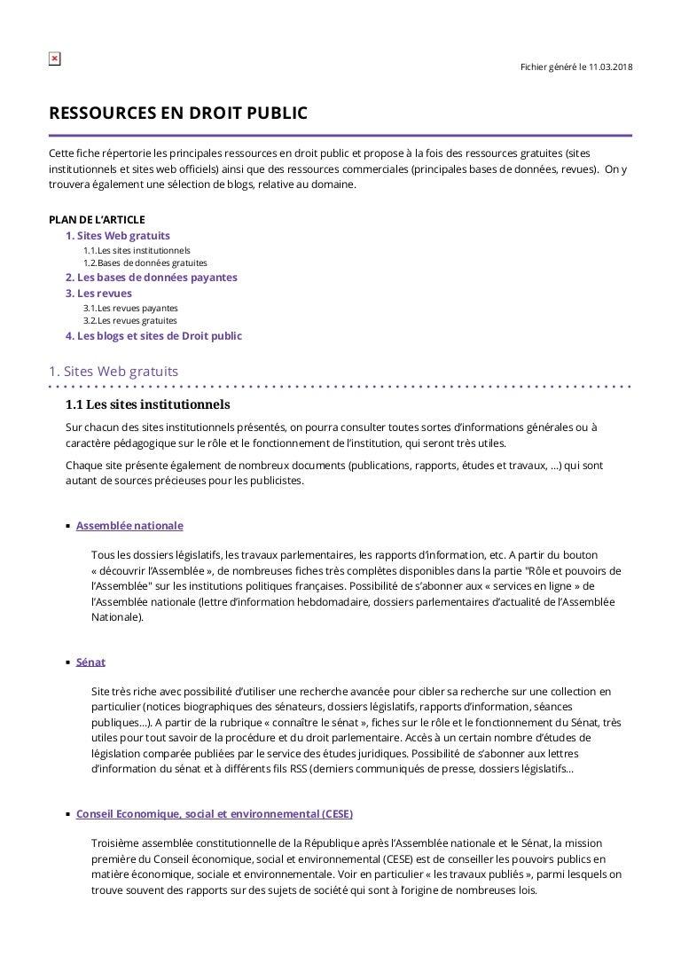8785fc581f6a15 Ressources en droit public ,liste abreviations en droit