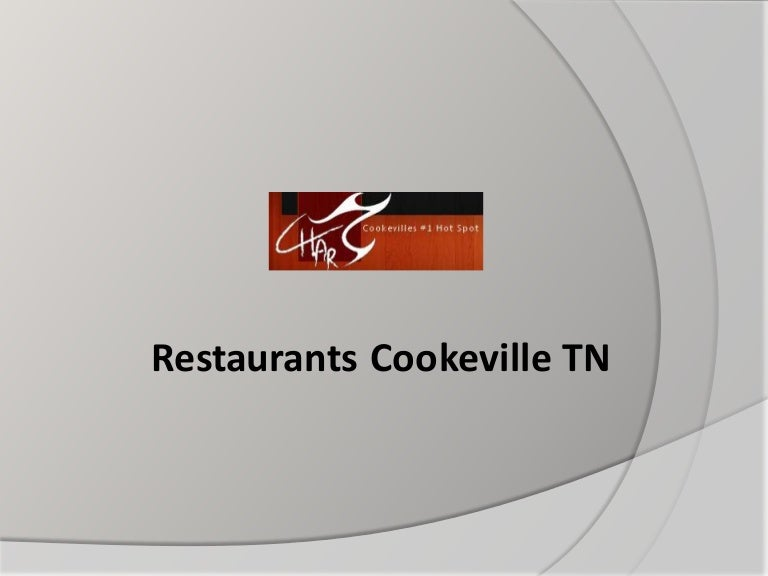 Restaurants Cookeville Tn