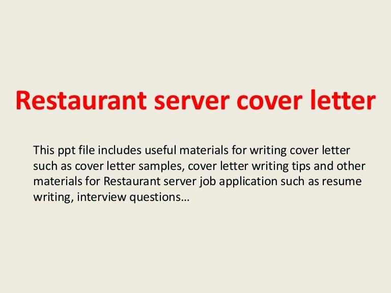 restaurantservercoverletter 140306023101 phpapp02 thumbnail 4jpgcb1394073112 - Server Cover Letter Sample