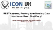 ICONUK 2016: REST Assured, Freeing Your Domino Data Has Never Been That Easy!