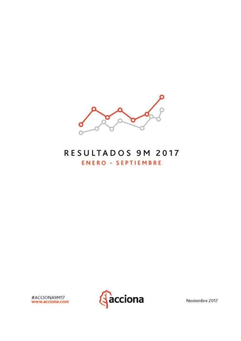 Informe de resultados #ACCIONA9M17