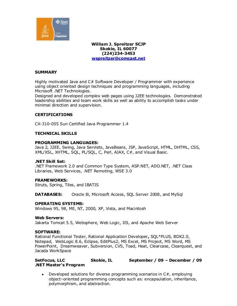 Asp Programmer Resume. Resume .