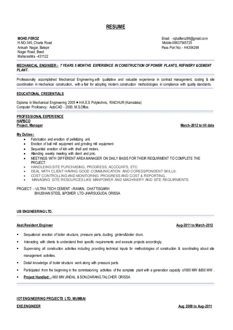resume camp counselor