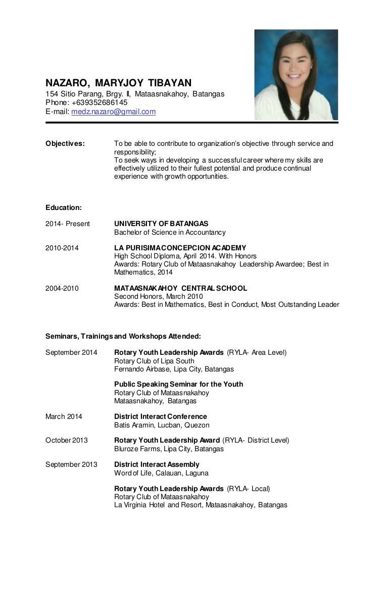 Resume Example For Ojt Resume Ixiplay Free Resume Samples