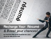 Fresh Grads! Recharge Your Resume and Boost Your Chances