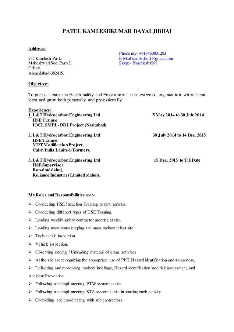 Awesome 1 Page Resume Templates Small 1 Year Experience Resume Format For Java Developer Flat 1099 Templates 12 Inch Ruler Template Young 16x20 Collage Template Black1st Time Job Resume Patel Kamleshkumar Resume.safety Officer In L\u0026t Hydrocarbon Eng