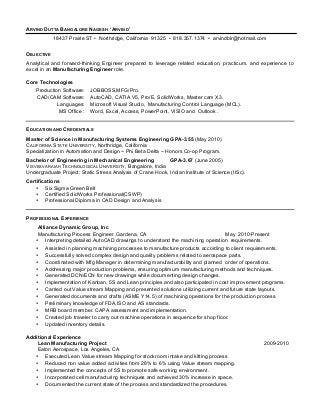 Manufacturing Engineer | LinkedIn