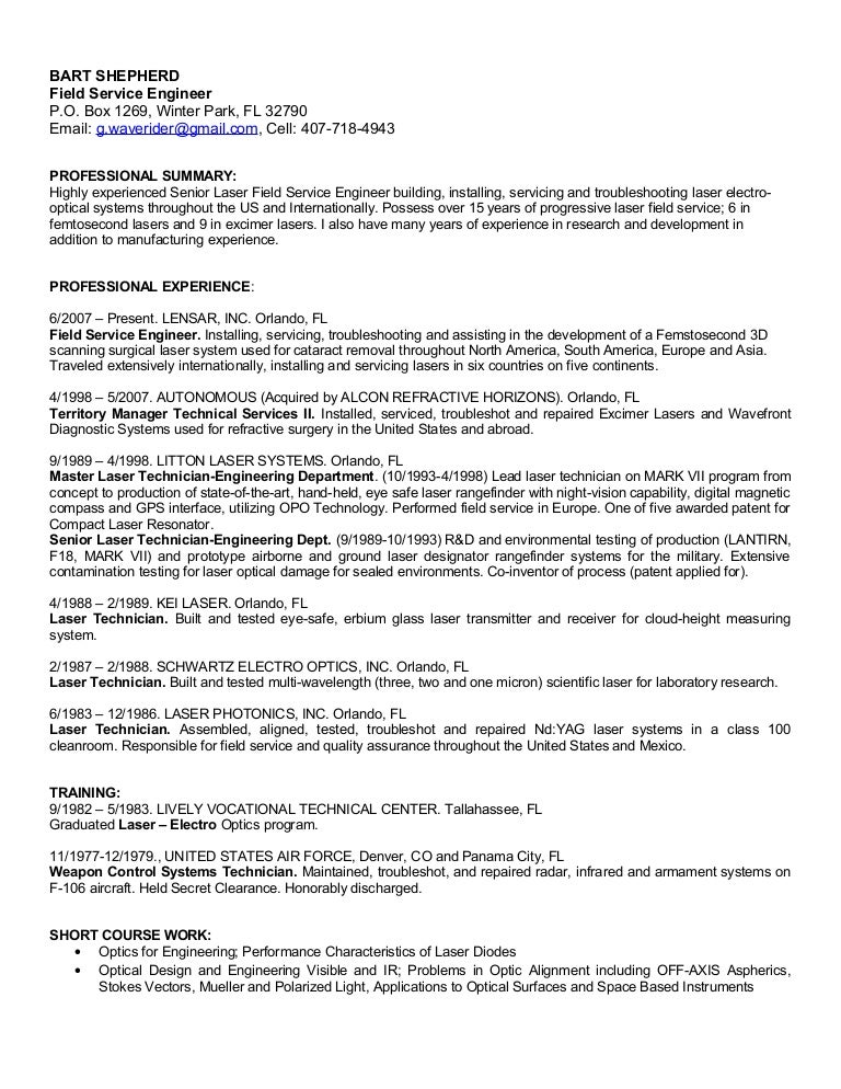 It Technician Objective Resume