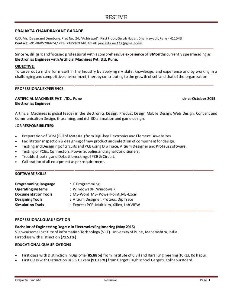 education based resume