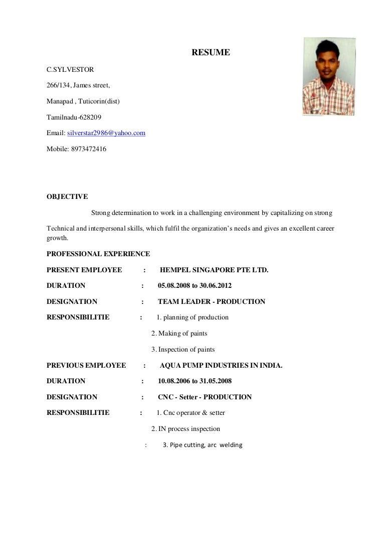 Resume star-1