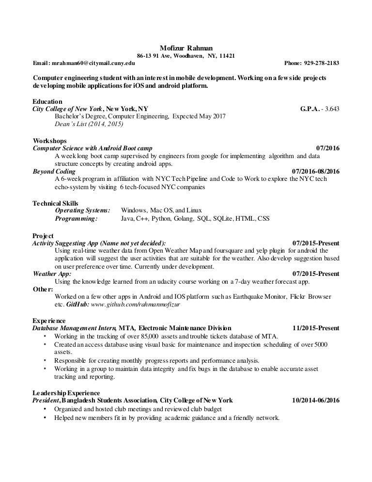 Mofizur-Rahman-Resume