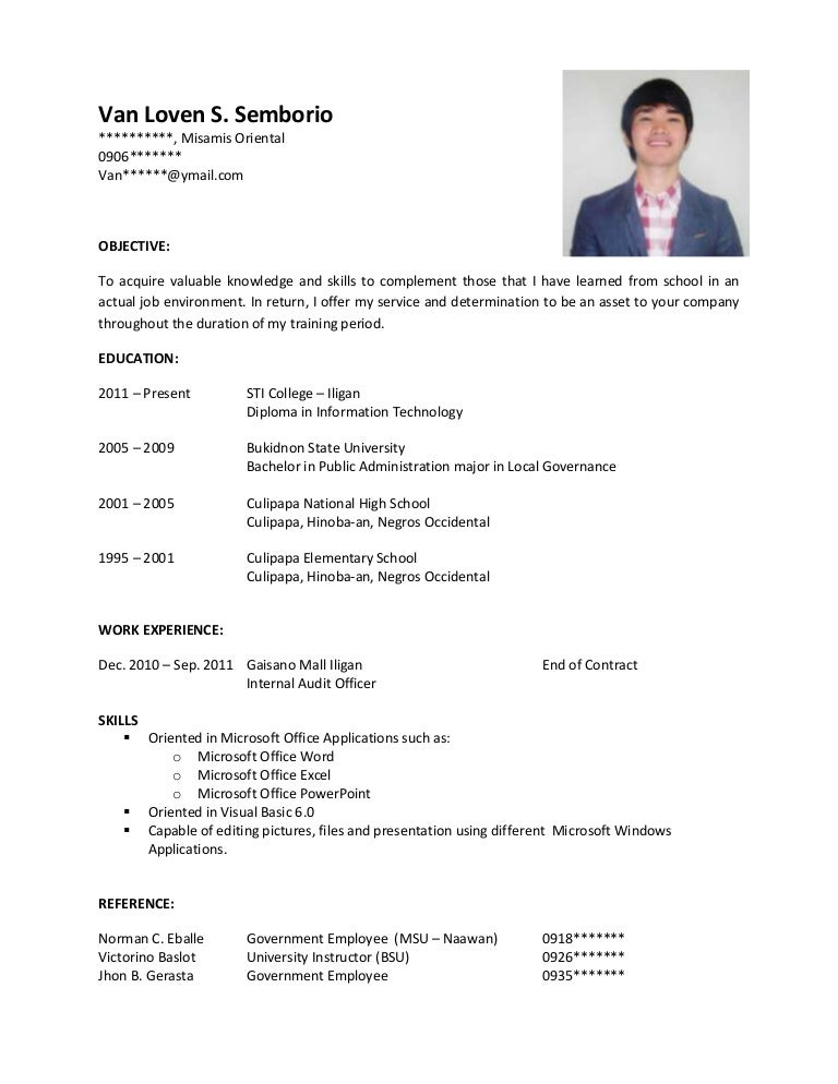 Copy Resume Format  Resume Format And Resume Maker
