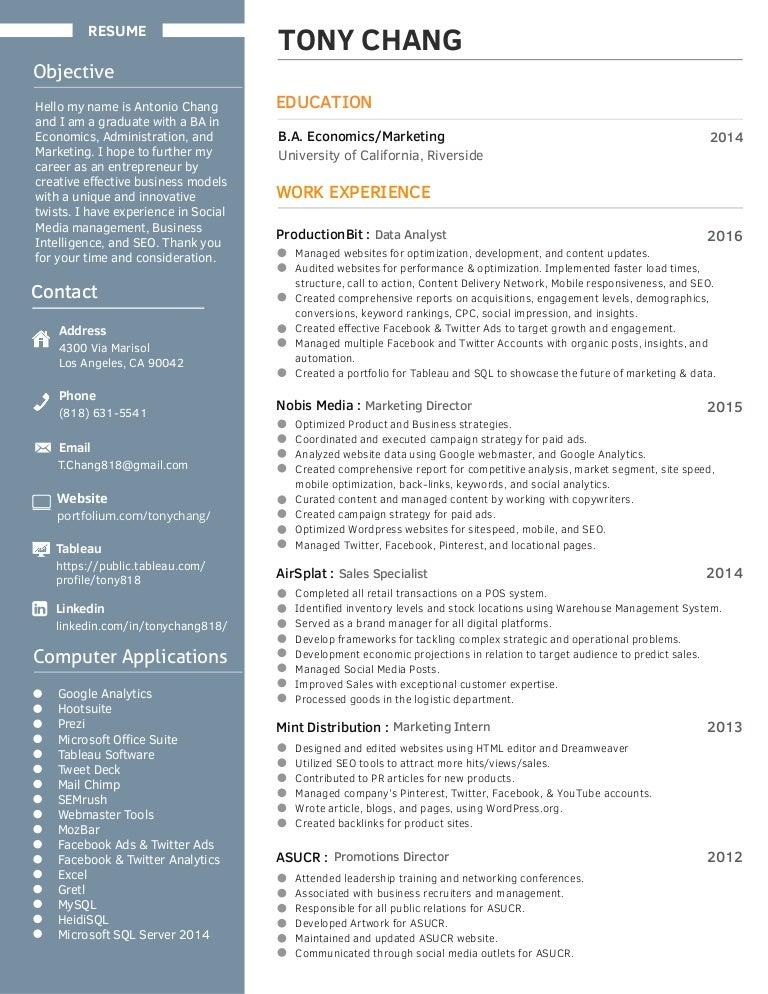 updated resume 10